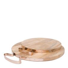 MH Cheese Board - Copper Handle  -