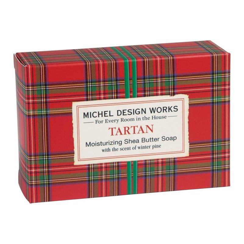 Michel Design Works Tartan - Boxed Single Soap