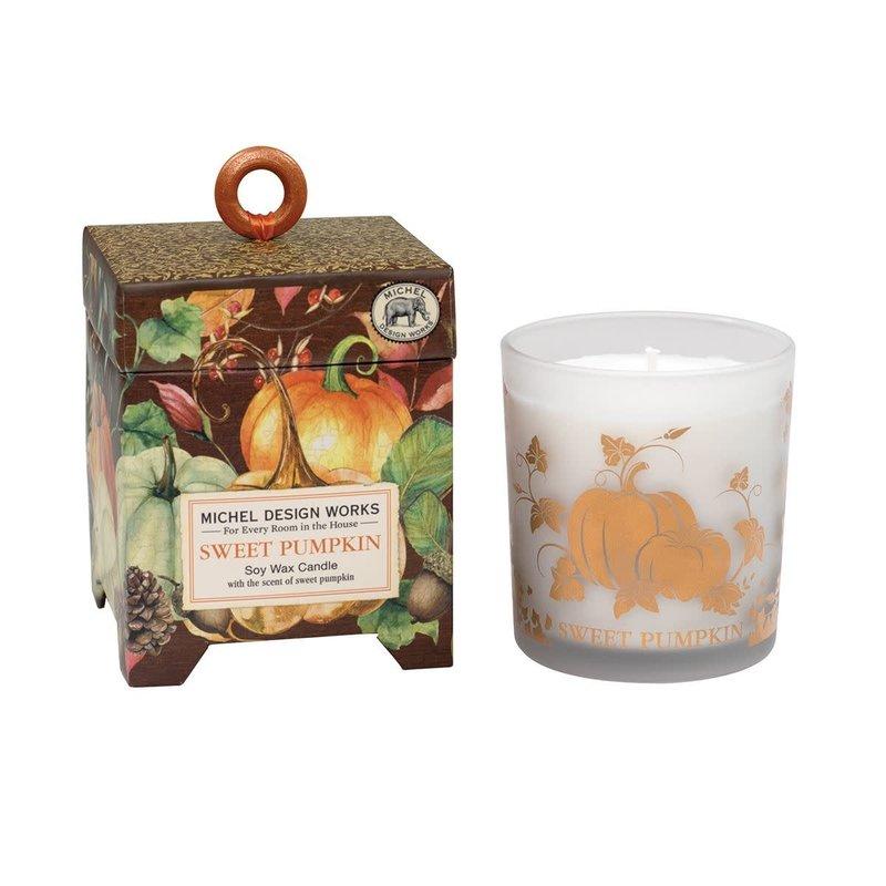 Michel Design Works Sweet Pumpkin - Soy Candle - 6.5oz