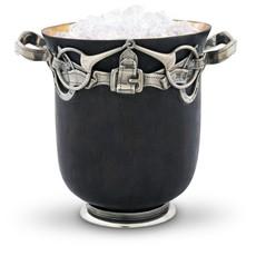 """Ice Bucket - Equestrian - Bronze - 8"""" T x 7"""" W x 8.5"""" L"""
