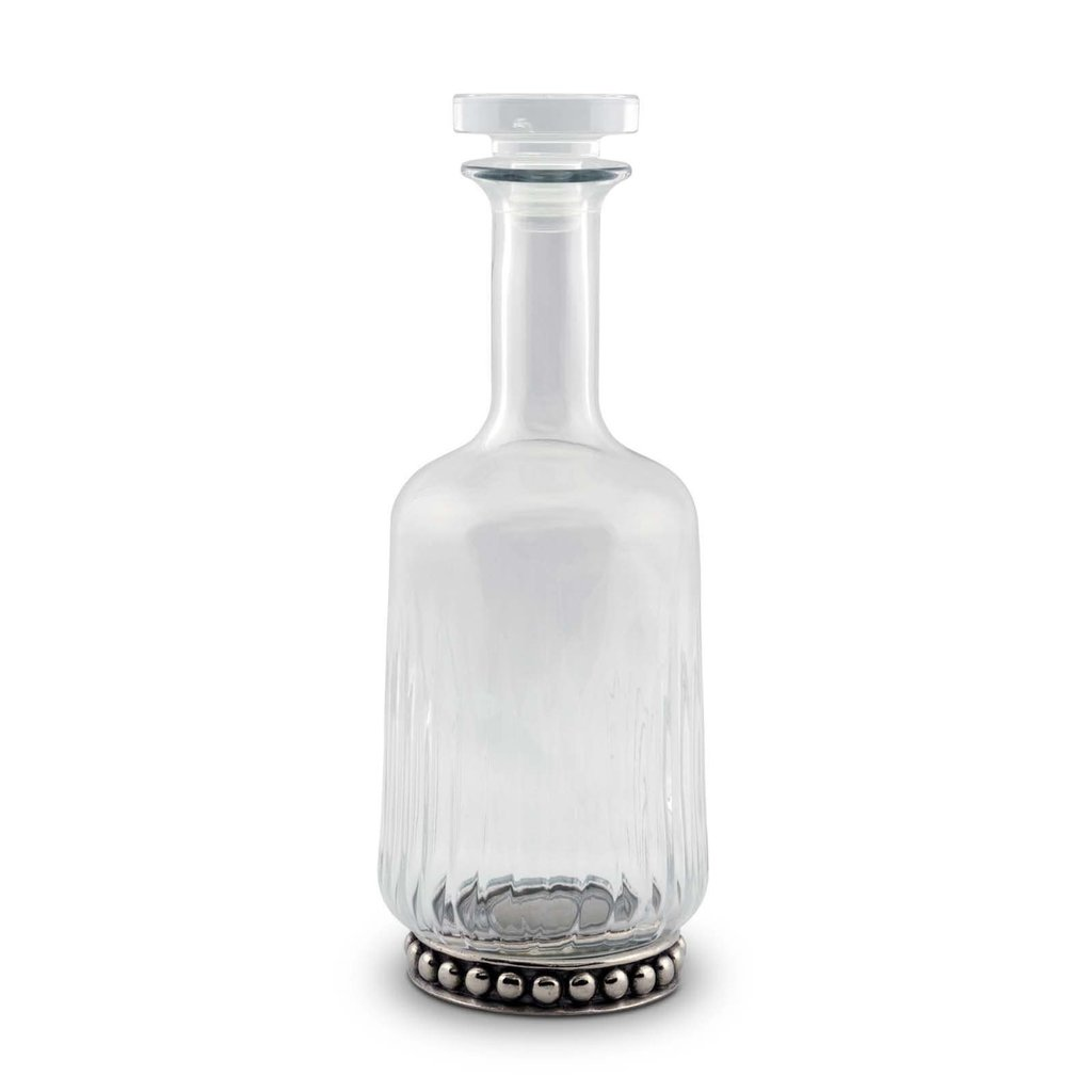 MH Decanter - Medici - Glass & Pewter