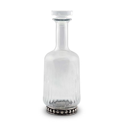 Decanter - Medici - Glass & Pewter