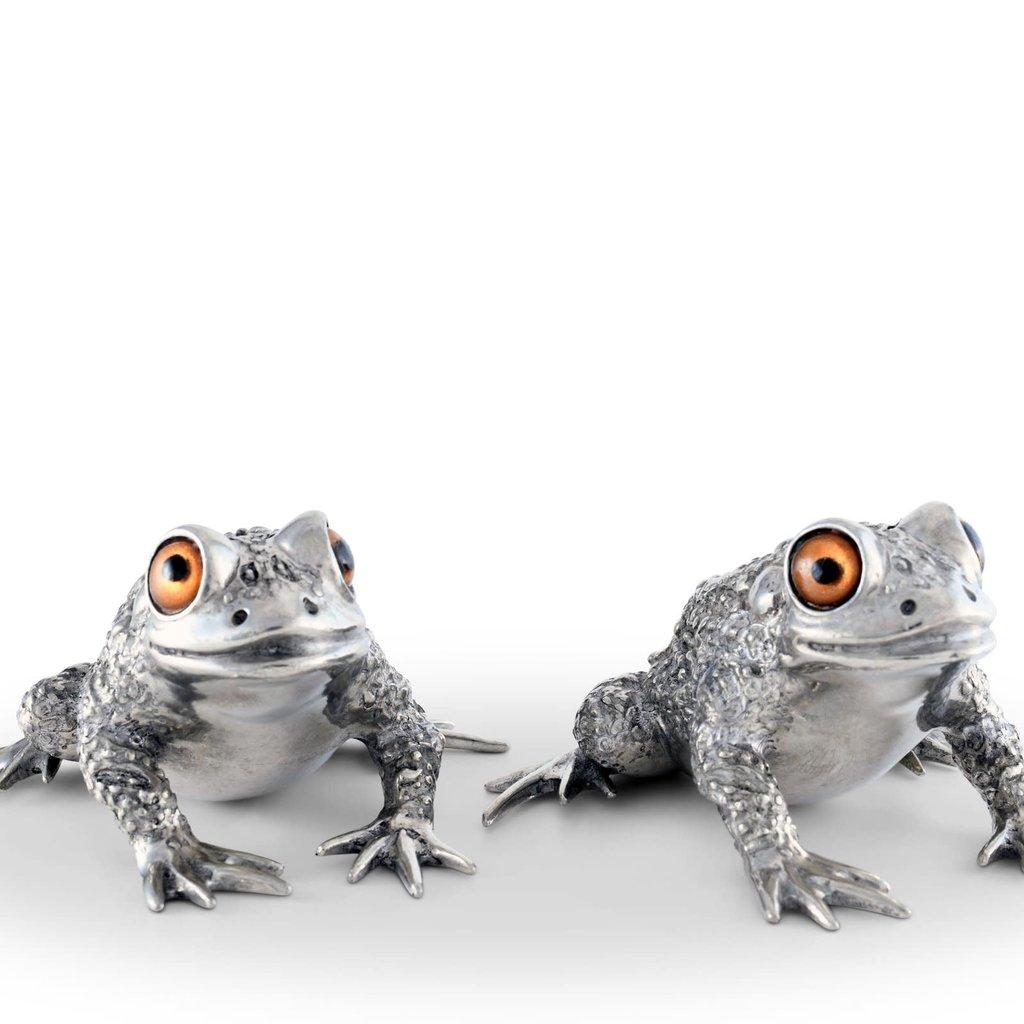 MH Salt & Pepper - Toads - Pewter