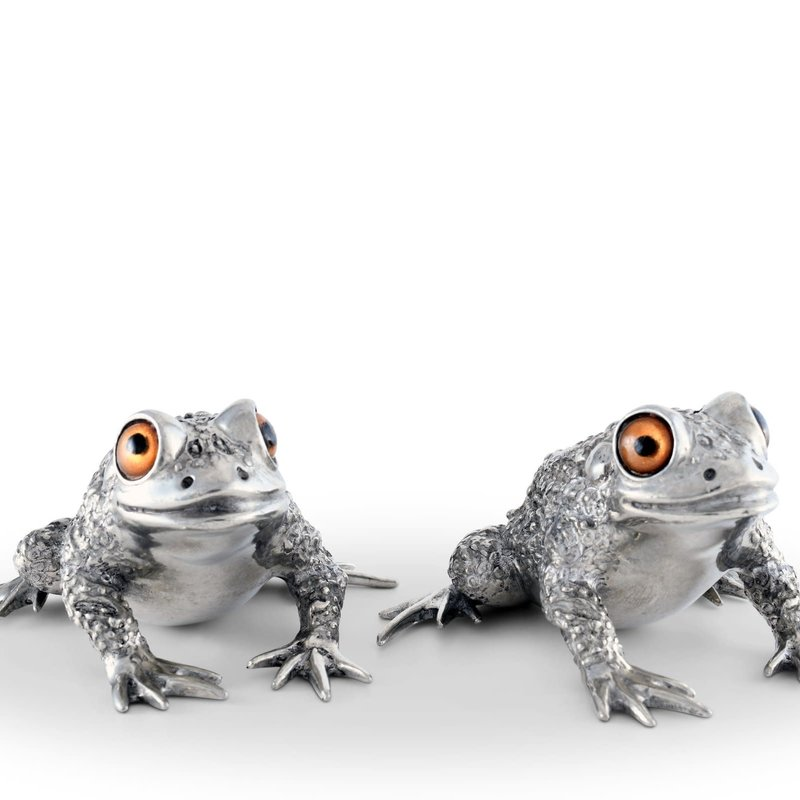 Vagabond House Salt & Pepper - Toads - Pewter