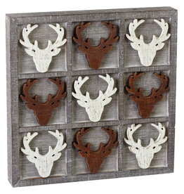 MH Game - Stag Tic Tac Toe - DAMAGED PIECE