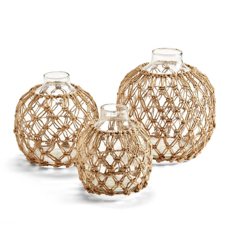 Two's Company Vase - Macrame -