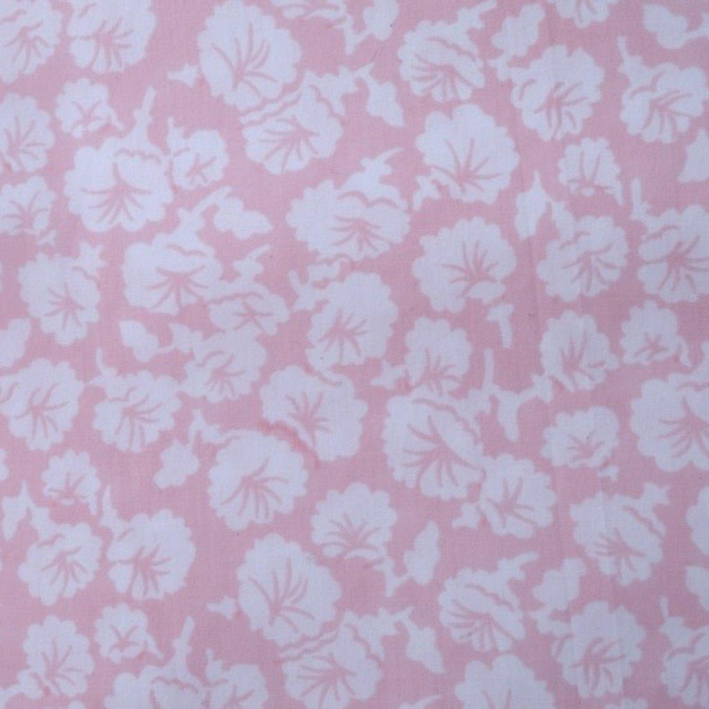 Liserons - Pink - White Scallop - Neckroll