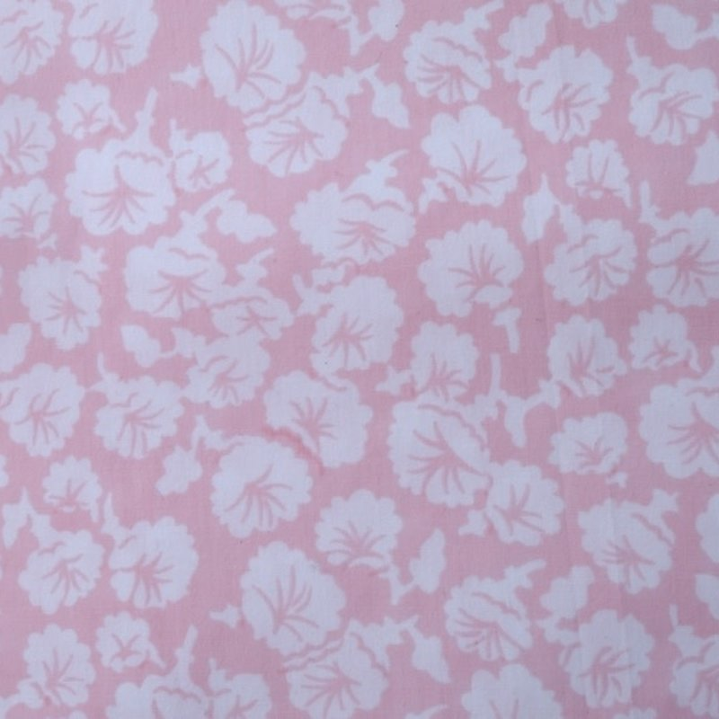 D. Porthault Liserons - Pink - White Scallop - Neckroll