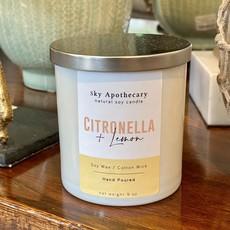 MH Candle - Soy -  Citronella & Lemon - 9 oz.