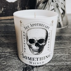 Candle - Halloween - Something Wicked - Black Incense, Absinthe & Plum
