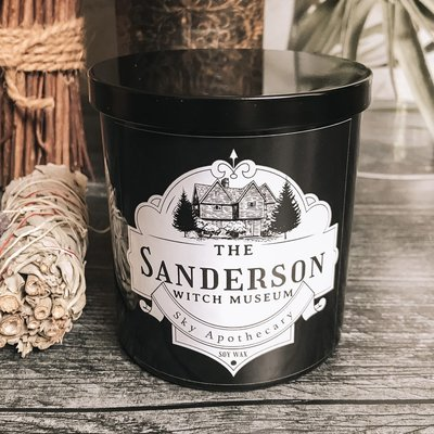 Candle - Halloween - Sanderson Witch Museum - Pumpkin, Cinnamon, Sugar