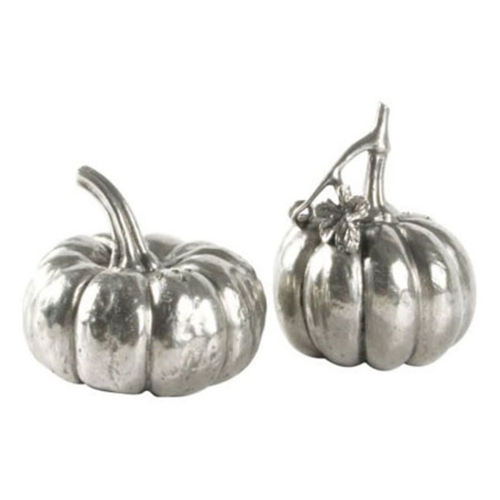 MH Salt & Pepper - Pewter Pumpkin