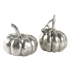 Salt & Pepper - Pewter Pumpkin