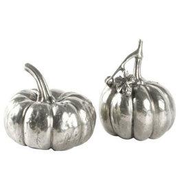 Salt & Pepper - Pewter Pumpkin