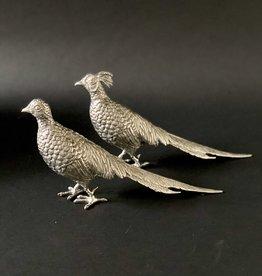 Statuettes - Pheasants Set - Pewter