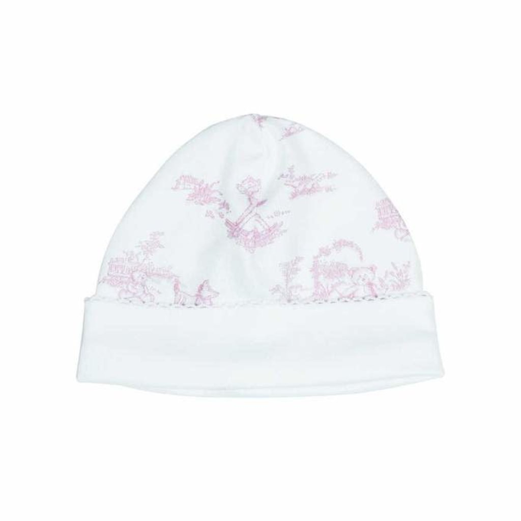 Baby Hat - Toile - Pink