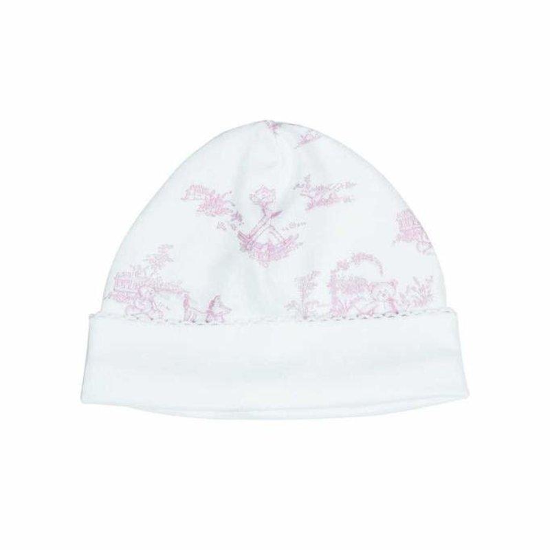 Nella Pima Baby Hat - Toile - Pink