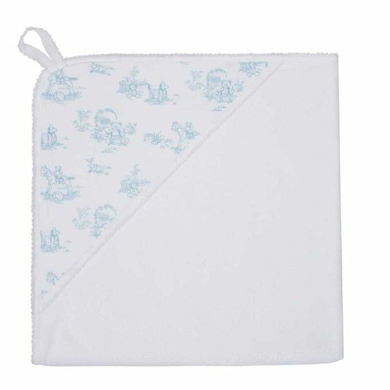 Nella Pima Toile - Hooded Towel -