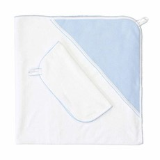 Hooded Towel Set - Bubble Applique -
