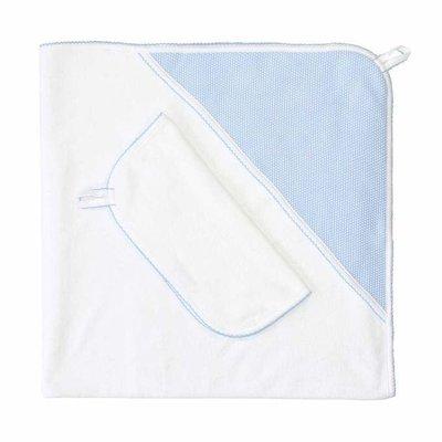 Hooded Towel Set - Bubble Applique -