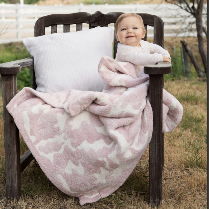 Barefoot Dreams Baby Blanket - CozyChic - Camo -