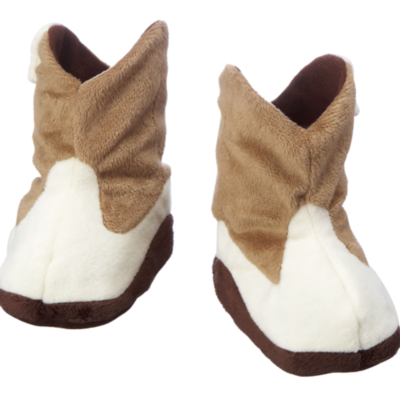 Ganz Baby - Slippers - Cowboy Boot - 0-12 Mos