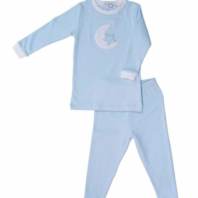 Nella Pima Baby Pajamas - Moon Pajamas -