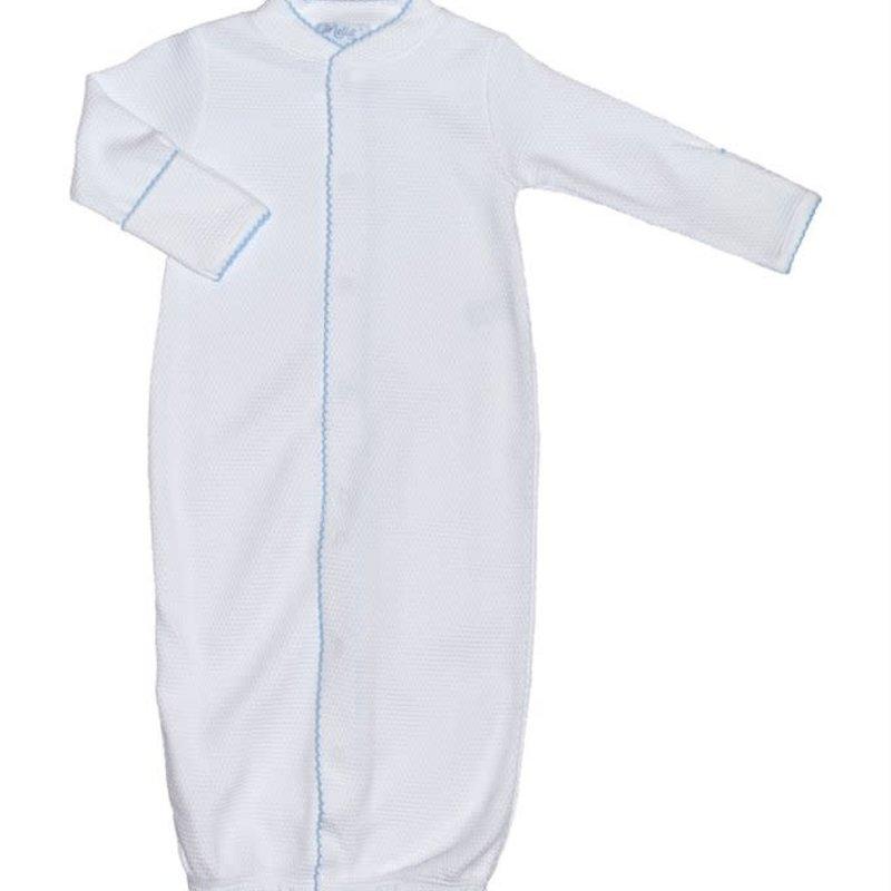 Nella Pima Converter Gown - White Bubble -