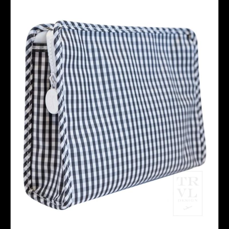 TRVL Design Gingham Roadie Bag