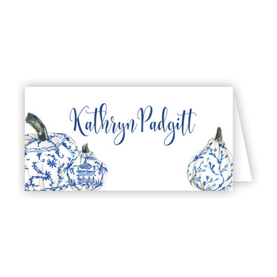 Place Cards -  Pumpkins - More Designs