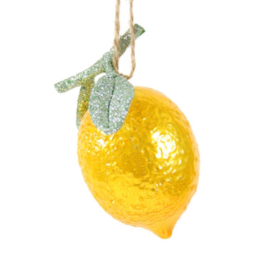 Ornament - Blown Glass - Lemon