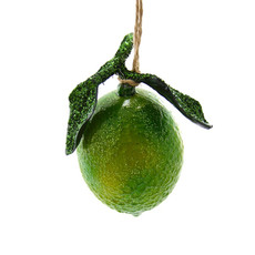 Ornament - Blown Glass - Orchard Lime