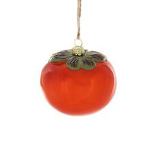 Ornament - Blown Glass - Persimmon