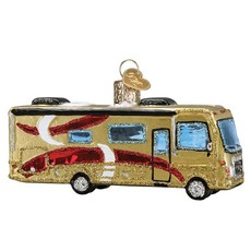 Ornament - Blown Glass - Class A Motorhome