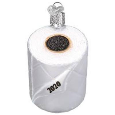 Ornament - Blown Glass - 2020 Toilet Paper