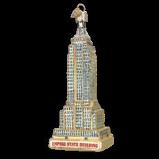 Ornament - Blown Glass - Empire State Building