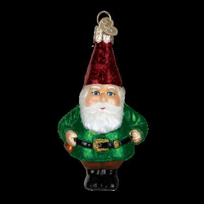 Ornament - Blown Glass - Gnome