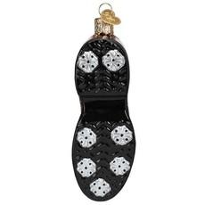 Ornament - Blown Glass - Golf Shoe