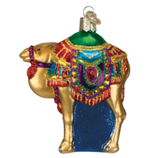 Ornament - Blown Glass - Magi's Camel
