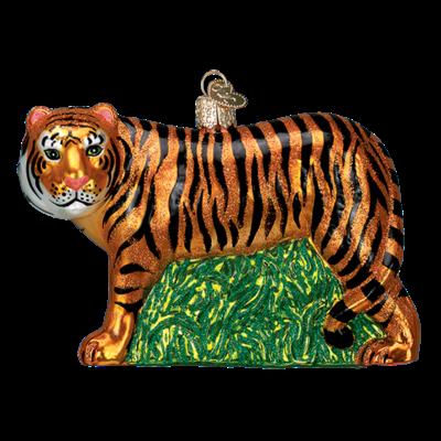 Ornament - Blown Glass - Tiger