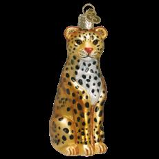 Ornament - Blown Glass - Leopard