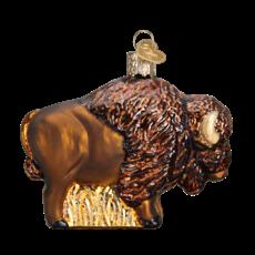 Ornament - Blown Glass - Buffalo