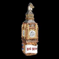 Ornament - Blown Glass - Cities -  London/Big Ben