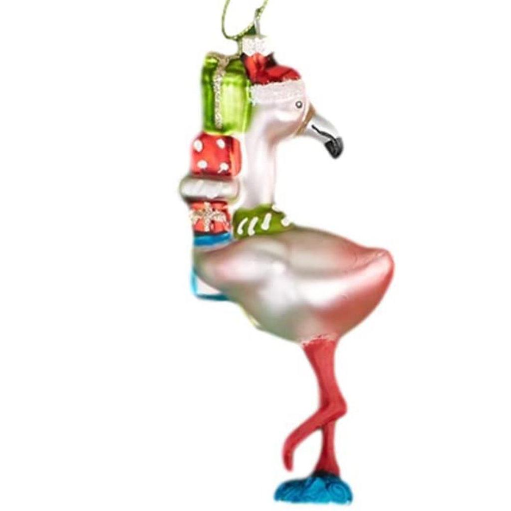 Ornament - Festive Flamingo