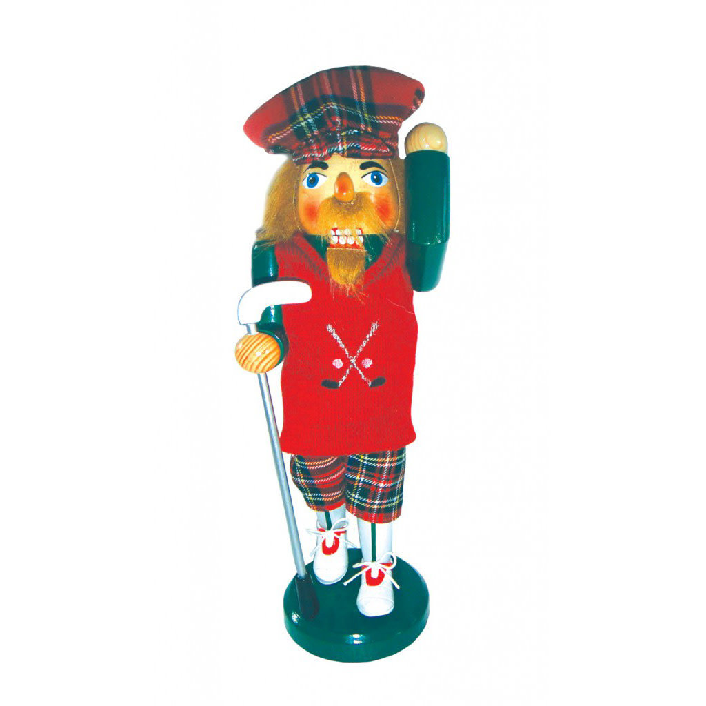 "Nutcracker - Golfer - Man - 14"""