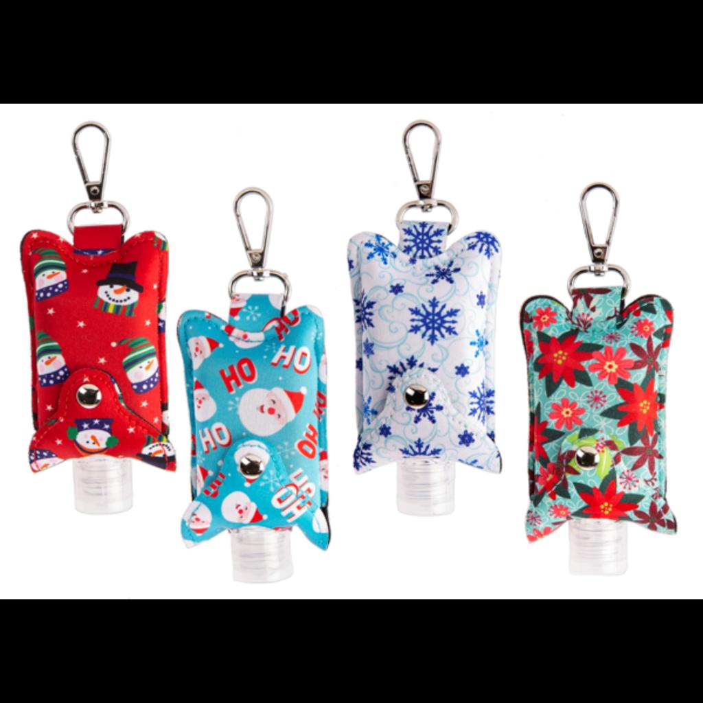 Ganz Hand Sanitizer  Sleeve - Holiday - Assorted Designs