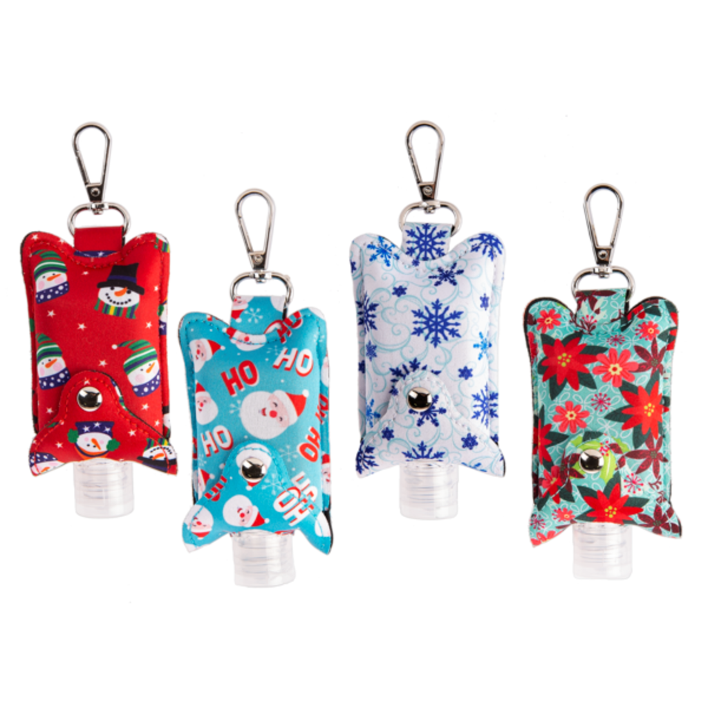 MH Hand Sanitizer  Sleeve - Holiday - Assorted Designs