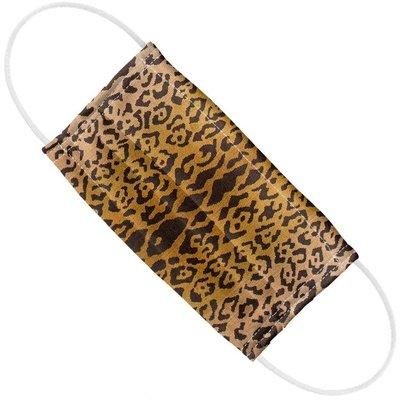Face Mask  -  Scalamandre - Leopardo - Ivory/Gold