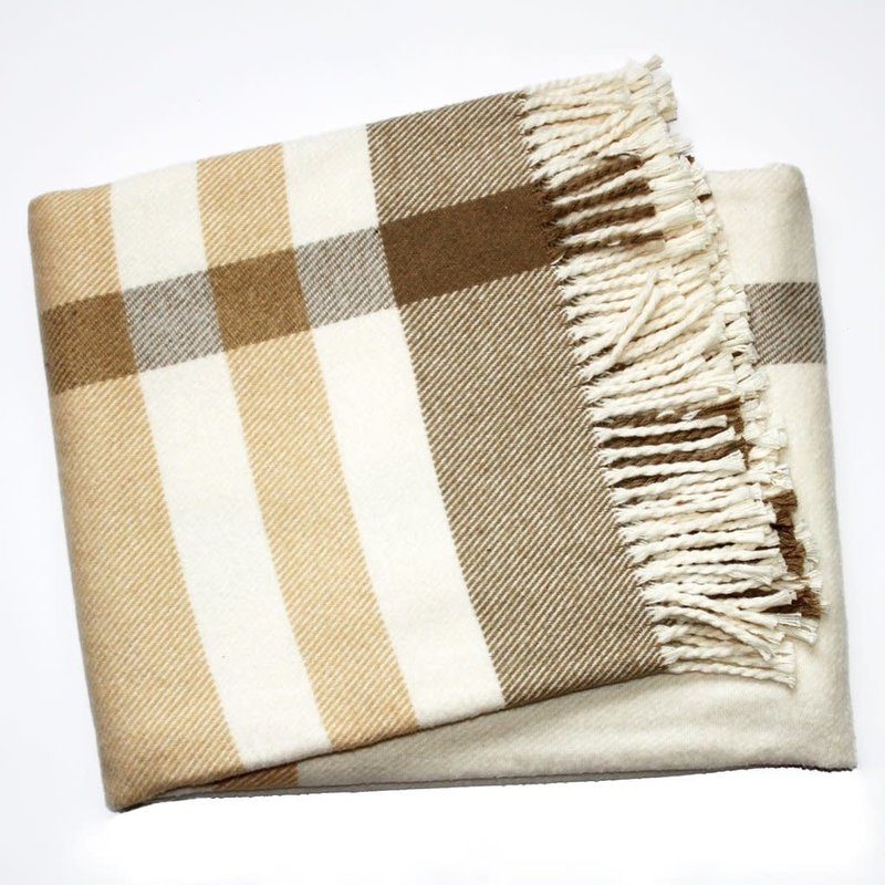 A Soft Idea / Apparel Solutions Throw - Large Plaid - 55x70 -