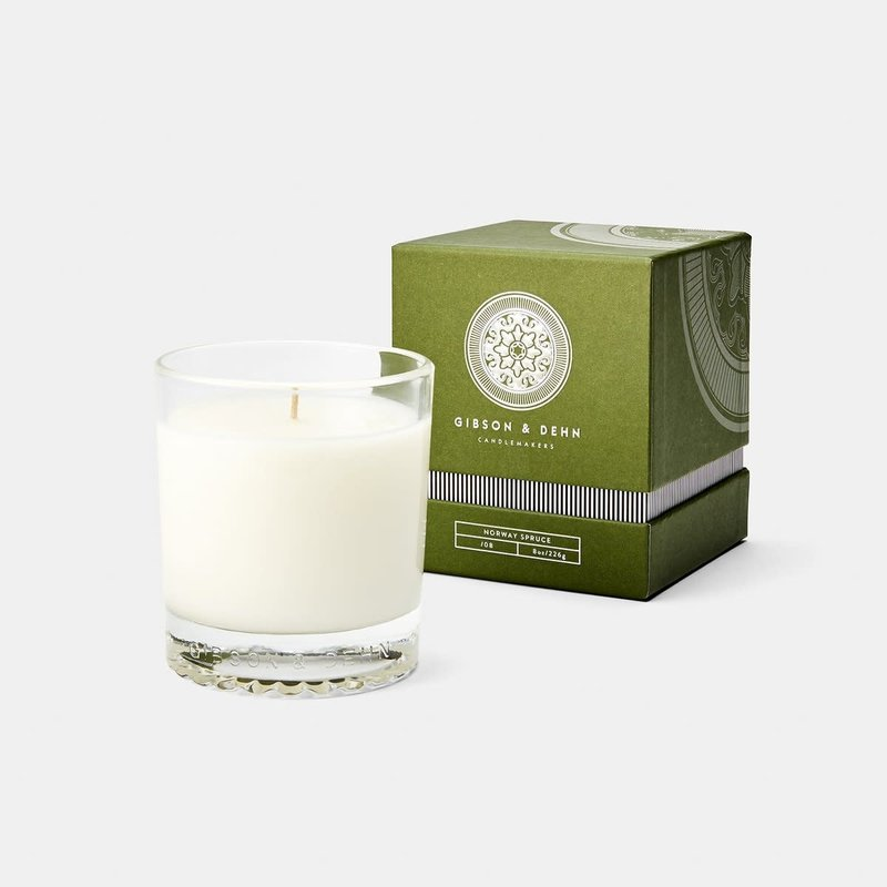 MH Gibson & Dehn -  8 0z Candle - Norway Spruce